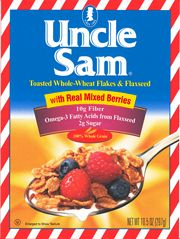 Uncle Sam Cereal with Mixed Berries