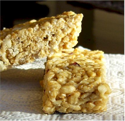 No Bake White Chocolate Chip Granola Bars from Go Dairy Free