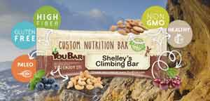 YouBar - customized nutrition bars perfect for anyone and everyone!