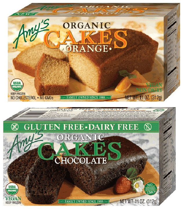Amy's Organic Cakes: Frozen, Vegan and AMAZING (Orange and Gluten-Free Chocolate)