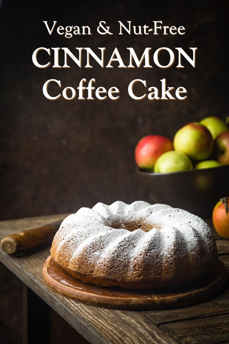 Vegan Cinnamon Coffee Cake Recipe is a Favorite of Food Allergy Mamas