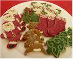 Gluten-Free / Casein-Free Christmas Cookies
