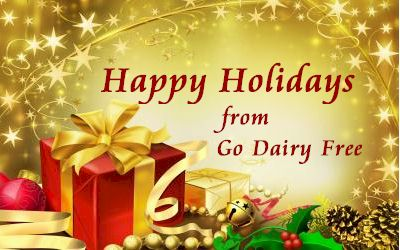 Happy Holidays from Go Dairy Free