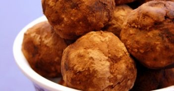 Gingersnap Vegan Truffles