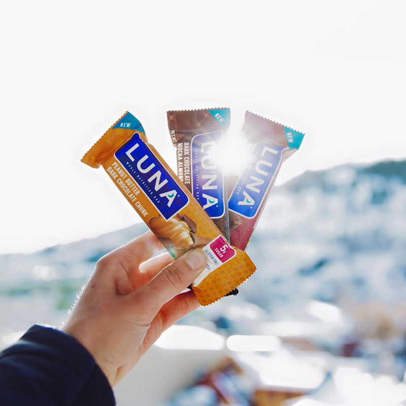 Luna Bars - Gluten-free and vegan nutrition bars made specially for women!