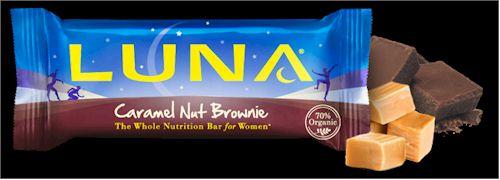 LunaBar Caramel Nut Brownie