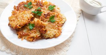 Traditional Potato Latkes Recipe with 20 Dairy-Free Topping Ideas