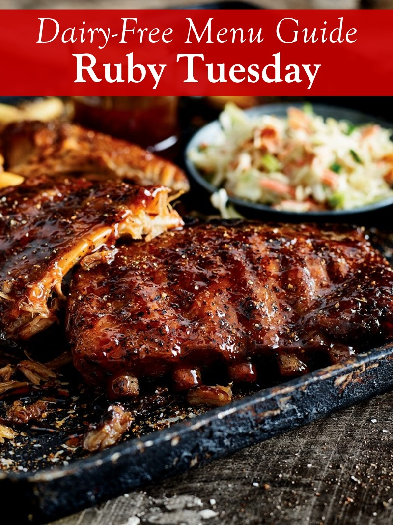 Ruby Tuesday Dairy-Free Menu Guide