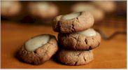 "My Sweet Vegan ""CheeseCake"" Thumbprint Cookies"
