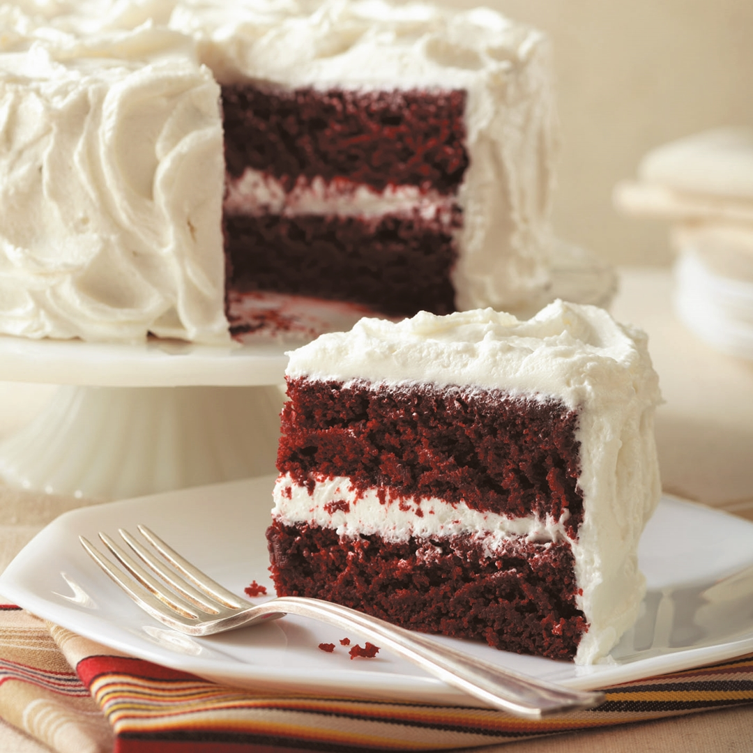 Old Fashioned Red Velvet Cake Without Food Coloring