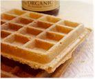 Peanut Butter Oatmeal Blender Waffles - Vegan and Wheat-Free