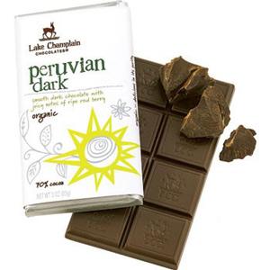 Lake Champlain Chocolates - High quality, organic, dairy-free vegan chocolate bars.