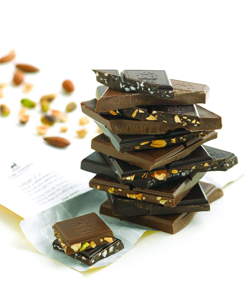 Lake Champlain Chocolates - High quality, organic, dairy-free vegan chocolate bars.