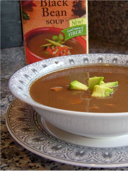 Pacific Foods Spicy Black Bean Soup - Dairy-Free and Vegan