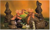 Dairy-Free, Vegan, Gluten-Free and Food Allergy Friendly Chocolate Easter Bunnies