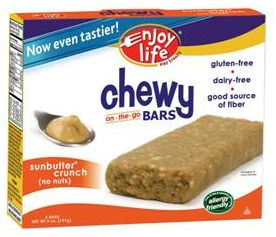 Enjoy LIfe Foods new Snack Bar Packaging and Recipe