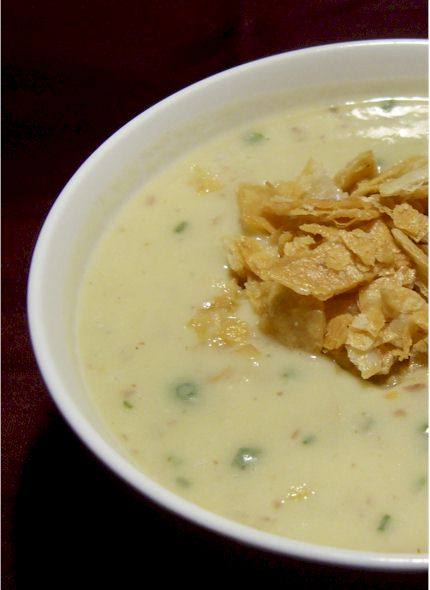 Rich and Creamy Potato Miso Soup - Dairy-free comfort food