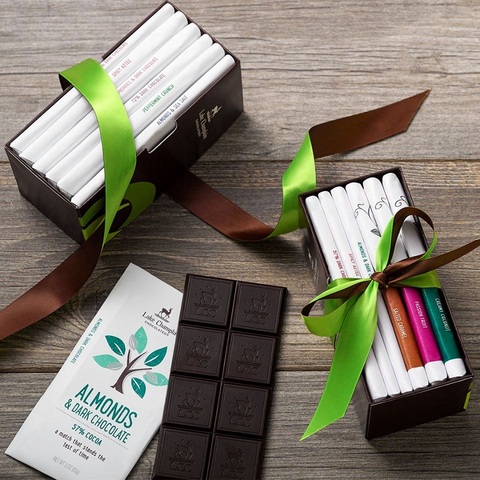 Lake Champlain Vegan Dark Chocolate Bars and Squares (Reviews and Full Information). Dairy-Free and soy-free organic chocolate.