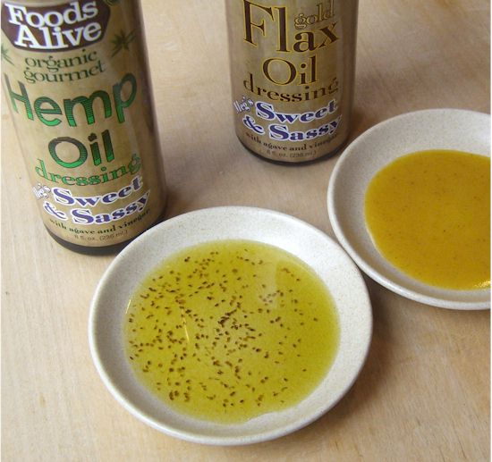 Foods Alive Organic Meg's Sweet & Sassy Salad Dressings - Flax and Hemp Based