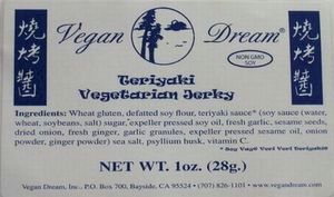 Vegan Dream Teriyaki Jerky