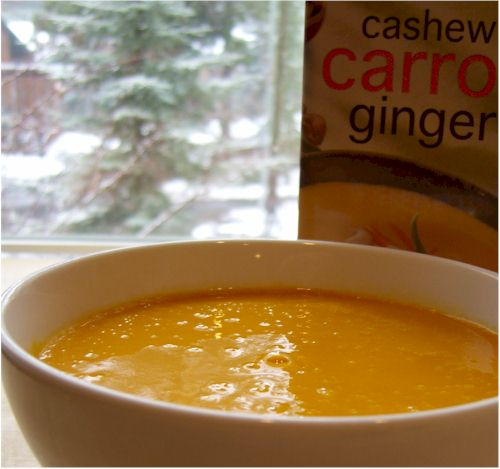 Pacific Foods Cashew Carrot Ginger Soup