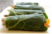 Collard Green Hummus Wraps - Gluten-Free, Dairy-Free, Soy-Free and optionally Vegan