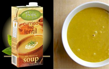 Pacific Foods Dairy-Fere Curried Red Lentil Soup