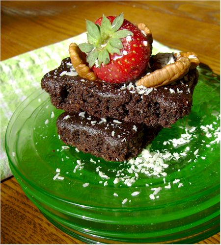 Dairy-Free Brownies from Mommy & Me Gluten-Free