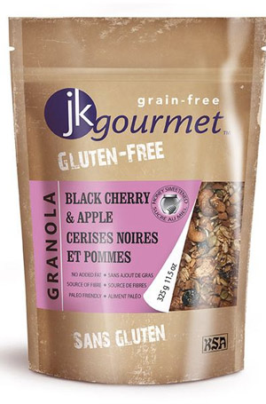 JK Gourmet Grain-Free Granola - gluten-free granola free of all grains!