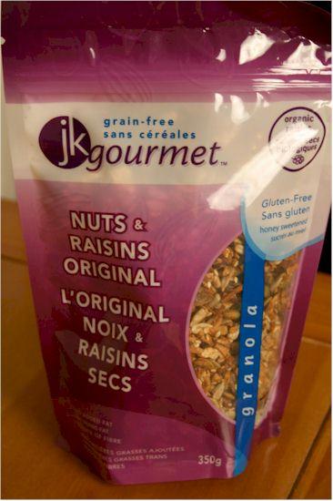JK Gourmet Grain-Free Granola