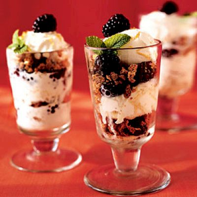 Leprechaun Dairy-Free Mint Parfaits