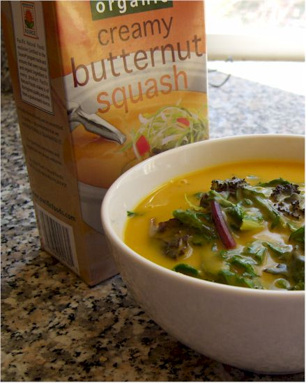 Pacific Foods Butternut Squash Soup - Dairy-Free and Vegan