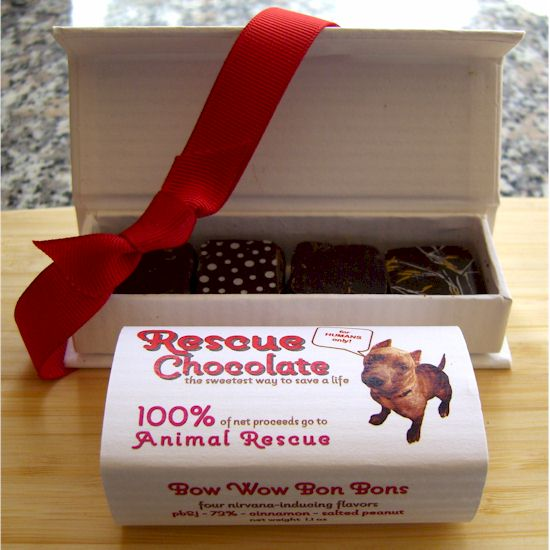 Rescue Chocolate - Vegan and Dairy-Free