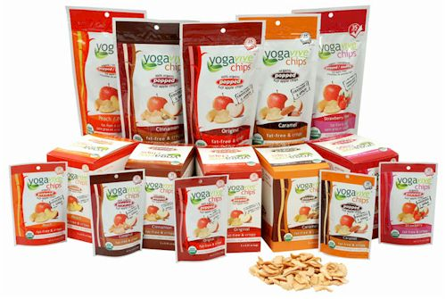 Yogavive Apple Chips - Vegan