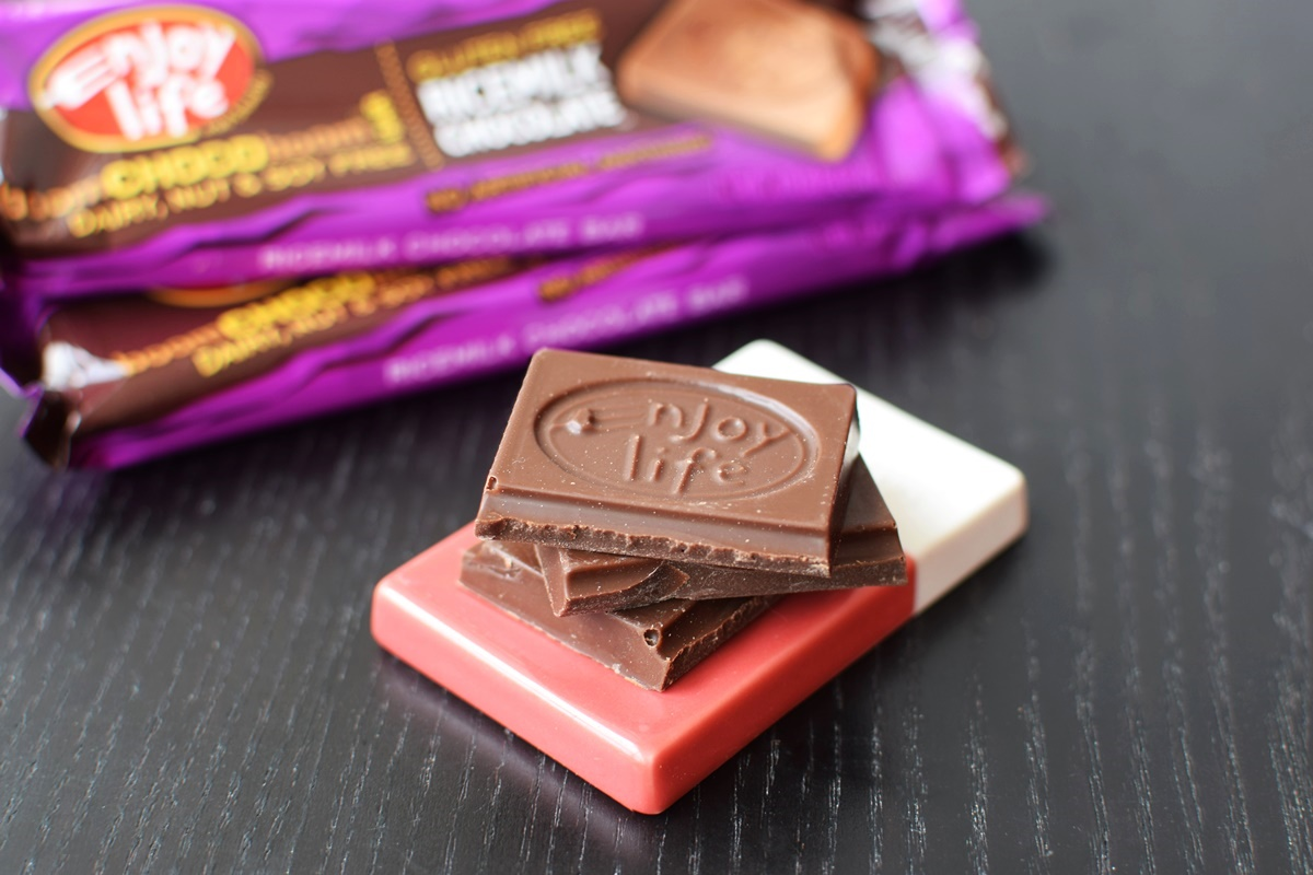 Enjoy Life Boom Choco Boom Chocolate Bars - Dark & RiceMilk varieties - dairy-free, nut-free, soy-free and vegan!
