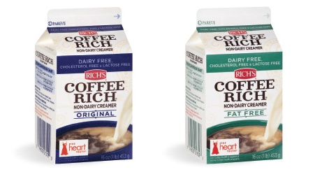The Guide to Dairy-Free Coffee Creamer: All vegan-friendly, gluten-free, and soy-free options (Coffee Rich Non-Dairy Creamer pictured)