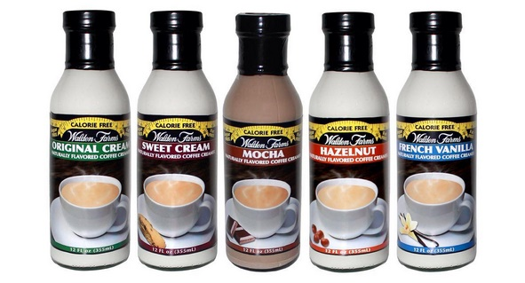 The Guide to Dairy-Free Coffee Creamer: All vegan-friendly, gluten-free, and soy-free options (Walden Farms Calorie Free Creamer pictured)