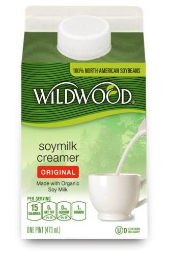 The Guide to Dairy-Free Coffee Creamer: All vegan-friendly, gluten-free, and soy-free options (Wildwood Organic Soymilk Creamer pictured)