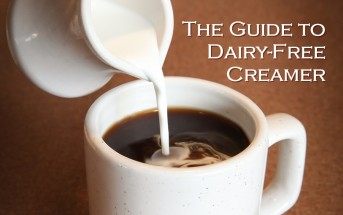 The Guide to Dairy-Free Coffee Creamer - so many alternatives and brands to choose from! Vegan-friendly, gluten-free and many allergy-friendly options.