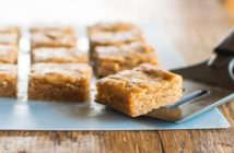 Vegan Peanut Butter Blondies Recipe - Two Versions! Perfectly Fudgy, Rich, and Sweet. Dairy-Free, Egg-Free, and Soy-Free.