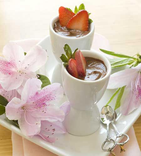 Dairy-Free, Gluten-Free Chocolate Pots