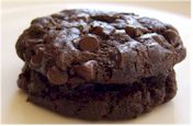 Vegan Fudge Brownie Cookies