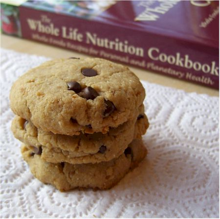 Maple Cashew Chocolate Chip Cookies - dairy-free, gluten-free, egg-free, and vegan