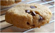 Gluten-Free Vegan Maple Chocolate Chip Cashew Cookies