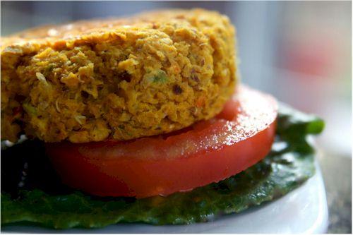 Veggie Sliders made with Panko-Style Kinnikinnick Gluten Free Crumbs (dairy-free, nut-free)