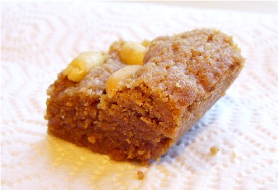 Vegan Peanut Butter Blondies Recipe