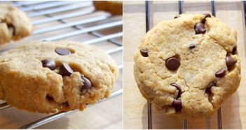 Maple Cashew Chocolate Chip Cookies Recipe - Vegan, Gluten-Free, Plant-Based, Dairy-Free, Egg-Free, and Soy-Free! Delicious with a cookie dough-like texture.