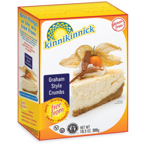 Kinnikinnick Gluten-Free Crumbs Reviews and Info - dairy-free, soy-free, nut-free, vegan Panko Breadcrumbs, Graham-style Cracker Crumbs and Chocolate Cookie Crumbs