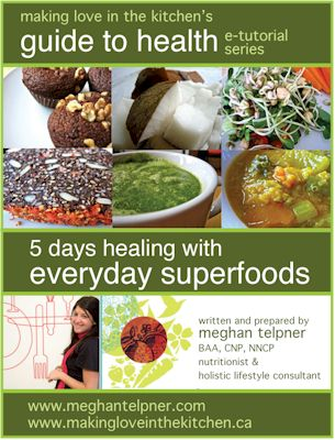 Meghan's Healing with Super Foods e-Tutorial