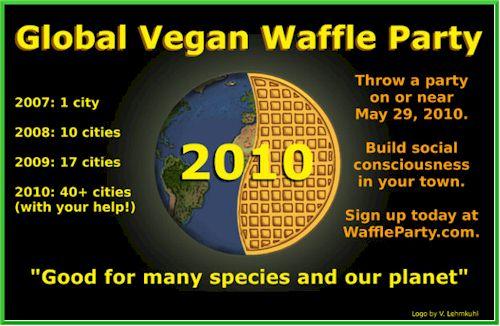 Vegan Waffle Party 2010